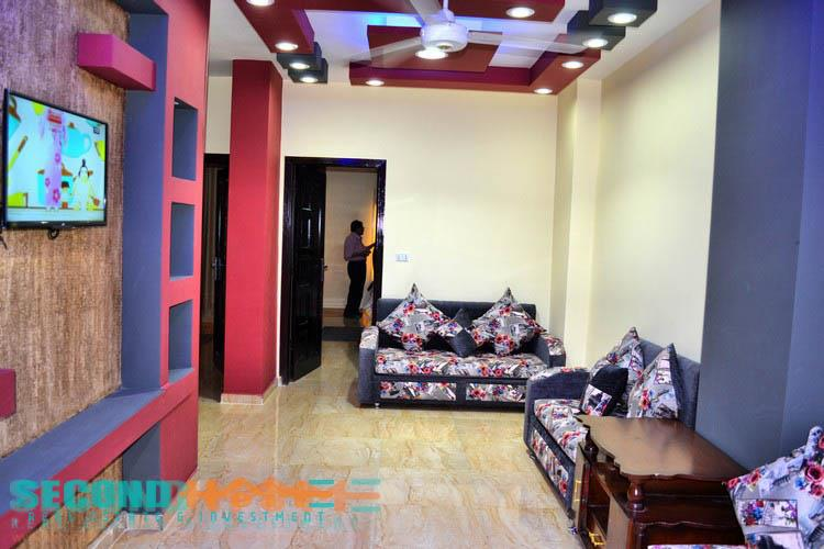 Sea view apartment for rent in Hadaba